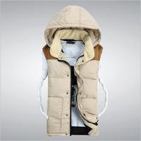 HS-03 For lover women men winter vest Autumn winter Fashion Casual Waistcoat Veste homme sleeveless jacket Mens vest Male vest