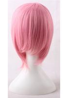 Full Bangs Haruno Sakura Pink Short Cosplay Anime Wig