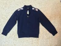 Cotton jacket UK design, baby boys girls outerwear coat brand kids spring autumn clothing children's jacket for 2-6years