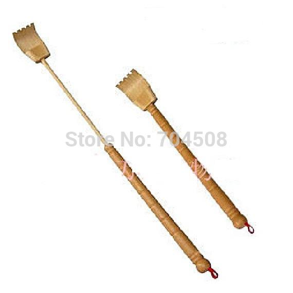 FD998 Plastic Bamboo Telescopic Extend Back Scratcher Practical Itching Massager(China (Mainland))