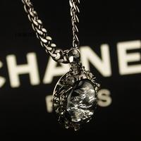 FREE SHIPPING!!2014 For Female necklace female fashion popular crystal gem short design necklace decoration