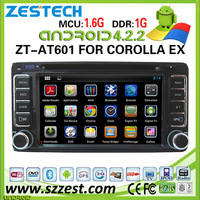 ZESTECH 7 inch car audio for Toyota Corolla EX car audio system with Android 4.2.2