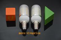 Hot selling 220V E14 SMD 5730 LED bulb 36 LEDS E14 5730 led lamp Warm white /white led corn candle light,chandelier