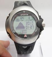 ALPHA Outdoor Climbing Sports Watch Men's Military Wrist watches Temperature Air pressure altitude  Compass Watch ML0578