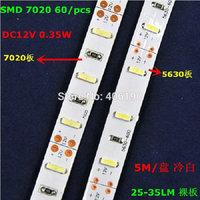 SMD 7020 300 LED Strip Light 60LED/m,New Arrival Non-waterproof LED Decoration Light