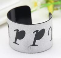 Free shipping 2014 new European and American big-name fashion style minimalist design broadside bracelet matte metallic hollow