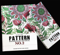 2014 Pattern Background Materials--New Vector floral Design--Fashion Trendy Pattern Fabric&Clothes Design(Book+16DVD-AI EPS CDR)