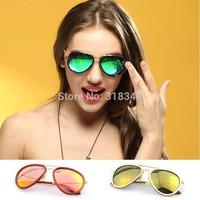 Free shipping VOGUE Newest Fashion aviator Brand sunglasses men Metal arm optic glasses gafas oculos de sol
