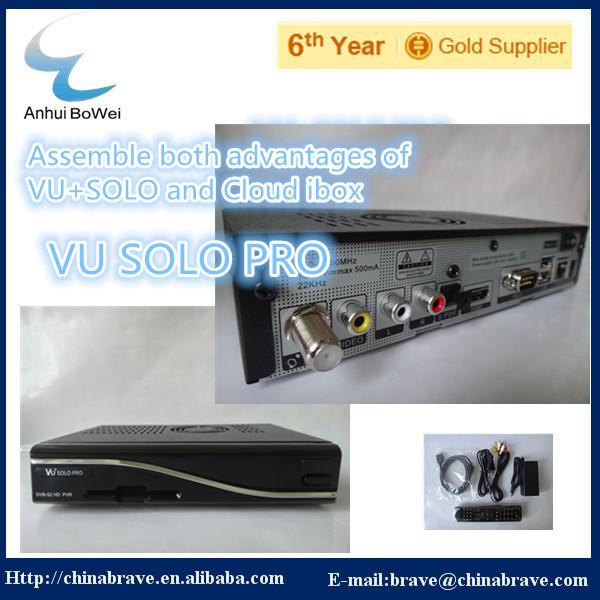 Приемник спутникового телевидения VU SOLO PRO Enigma 2 Vu + pro BCM 7325 Vu 3 Vu pro aqua vu 760 c