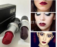 Hot! ! 2PCS Brand Makeup Cosmetics High Quality 3G Lipstick Germain Cyber  Plum-Black Colored Lipstick A+++ Free Shipping
