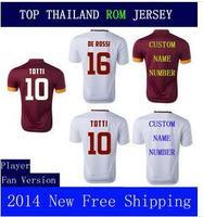A+++ Soccer Jersey Thailand Version 2014 14 15 Totti De Rossi Futbol Camisetas Shirt Gervinho
