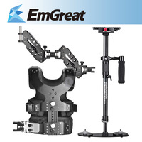 $5 off $100 New Pergear MC94 10KG Mini Extendable Handheld stabilizer+Vest Arm Kit For CANON NIKON SONY DSLR BMCC DV P0015451