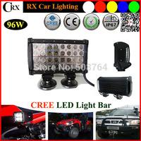 9.7 Inch Combo 32pcs*3w 96W 8160LM CREE LED Light Bar Off road Truck SUV 4WD LED Driving light Fog Light LED Work Light Bar