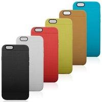 Official Style Soft TPU Back Case For iPhone 6 air, 9 color, 200pcs/lot Via DHL Free