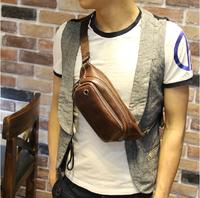 Sales variety men messenger genuine leather travel waist shoulder bags/wallet /handbag /mochila/purse  XKB17#