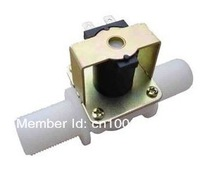 "Free shipping,1/2""BSPP Normally Open valve, Plastic  Solenoid Valve water valve 12V24V220V ,10pcs"