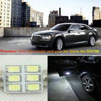 Free Shipping 2Pcs/Lot 36mm 45mm 12v Car Led Courtesy Light For Chrysler 300 300C Crossfire Pacifica Sebring 300M SPECIAL
