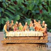 The Last Supper souvenir Resin jesus crafts fashion decoration home accessories