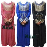 kaftan jilbabs and Islamic clothing for woman new fashion abaya muslim abaya 3 colors