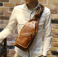 2014 New men messenger PU bags vintage style army cross body bag men's travel bags XKB18#