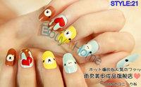 50packs/lot wholesale false nail DIY hand makeup fake finger nail tips good quality nail beauty nail sticker