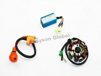 GY6 150 Magneto Stator Coil Performance CDI Box Ignition Coil 150CC Go Kart #99009