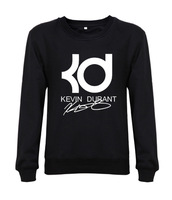 Round Neck Men 100% Cotton Sweatshirts kevin durant kd Printing Custom Sweatshirts for Men New Blouse Tops Casual