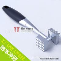 Free shipping 1piece Multifunction Kitchen Duplex Steak Knock meat hammer Tenderizers