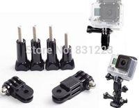 Adjustable 3-way Pivot Arm Assembly Extension+4 Thumb Knob Gopro HD Hero 1/2/3
