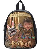 High-grade PU leather  Custom THE BOXTROLLS Backpack Bag (Large Size)
