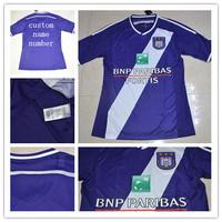 Top A+++ 2014/15 Belgium Pro League Soccer Jersey Anderlecht home purple jersey,Free shipping