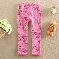 2014 autumn/Winter new produce fashion children's clothing pants baby girls pants cotton girl leggings 5pcs/lot