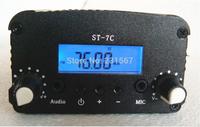 2014 NEW! 5W stereo PLL FM transmitter broadcast radio station ST-7C 76-108MHZ only host