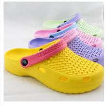 2014 vacíos zapatos zapatos del agujero del jardín de EVA sandalias de playa de los deslizadores de las nuevas mujeres(China (Mainland))