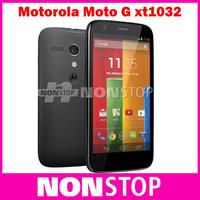 "Original  Motorola Moto G XT1032 Mobile Phone4.5"" IPS Quad Core Android 4.3 ROM 8GB/16GB Camera 5MP Motorola G Cellphone"