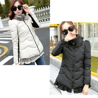 2014 Fashion winter women down jacket  women duck down coats ladies dress coat  women parka plus size L~3XL free shipping