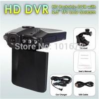 """Free Shipping 2.5""""TFT LCD screen 270 Degree Road Safety Guard Night Vision Car DVR 6 LED Car Camera"""