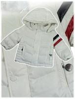 2014   New   Retail   Brand   fashion   autumn/winter   children's   down   coat   long   sleeve   striped  pattern  boy's  coat