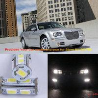 Free Shipping 2Pcs/Lot T10 194 2825 12v Car Led Parking Light Bulb For Chrysler 300 Crossfire PT Cruiser