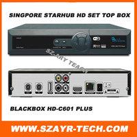 Singapore Starhub Cable TV HD Set Top Box  Blackbox hd-c601 plus Upgrading to Nagra3 upgrade from Blackbox hd-c600 watch BPL