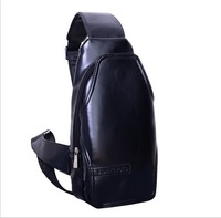 Men shoulder bag leather shoulder zipper bag men leather shoulder messenger bag
