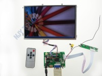 "Free Shipping HDMI+VGA+2AV LCD Controller Kit+10.1 inch B101EW05 1280x800 LED Screen Panel  for DIY 10.1"" LCD Car PC"