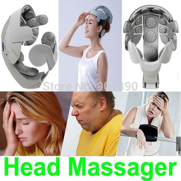 2014 New Alleviates Stress Electric Head Massager Health care Head Spa USB Massage Relax Easy body Brain Acupuncture Points(China (Mainland))
