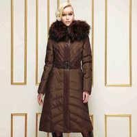 2014 Hot Winter Thicken Warm Women Down jacket Hooded Coats Raccoon Fur collar Outerwear Mid Long Luxury Slim Plus Size 4XXXXL