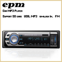 Car Radio MP3 Audio1Din Stereo fm transmitter Sound In-Dash With USB SD Input FM Receiver for MP3/4 Player AUX 3.5mm
