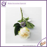 18848 10pcs  wholesale decorative ivory  rose wedding decoration artificial flower