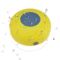 ew Mini Waterproof Wireless Bluetooth Handsfree Mic Suction Speaker Shower
