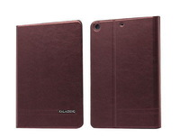 8 inches Tablet  PC KLD Luxury Folding Stand Folio Leather Tablet Case Cover for iPad Mini 1/2 +Film