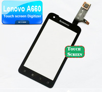 in stock Original Touch screen for Lenovo A660 Digitizer front glass replacement Touch Screen