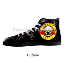 Guns N' Roses Fans Shoes Men Women Lace-up High Top Canvas Shoes